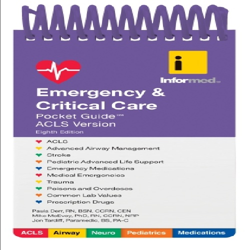 کتاب Emergency & Critical Care Pocket Guide - ویرایش هشتم