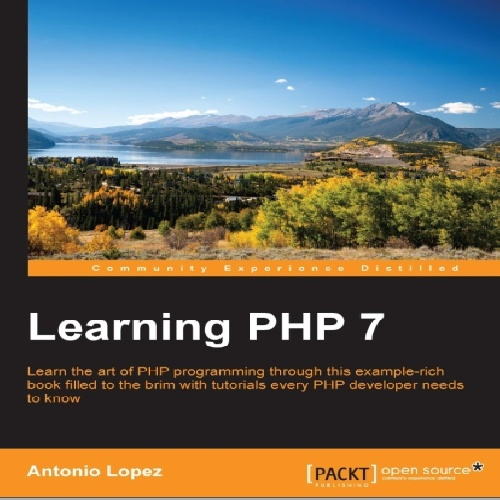 کتاب Learning PHP 7 سال انتشار (2016)