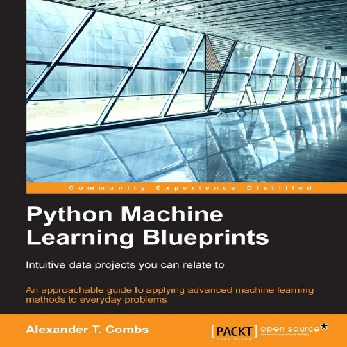 کتاب Python Machine Learning Blueprints سال انتشار (2016)