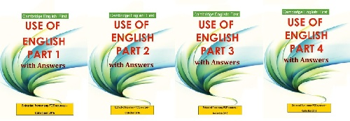 مجموعه 4 جلدی کتاب های Cambridge English: First Use Of English