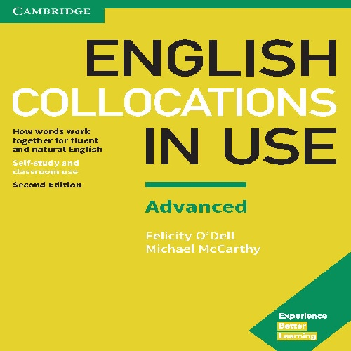کتاب Cambridge English Collocations in Use سطح  Advanced - ویرایش دوم (2017)