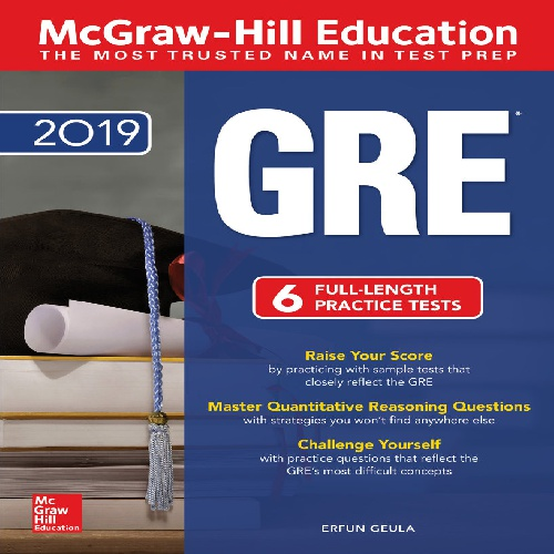 کتاب McGraw-Hill Education GRE 2019 - ویرایش پنجم