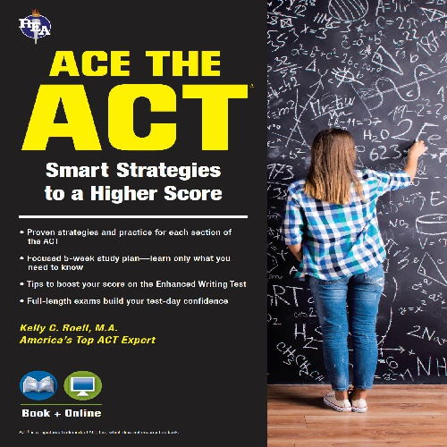کتاب ACE the ACT - ویرایش دوم (2017)