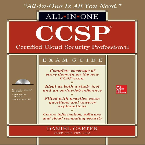 کتاب CCSP Certified Cloud Security Professional All-in-One Exam Guide سال انتشار (2017)