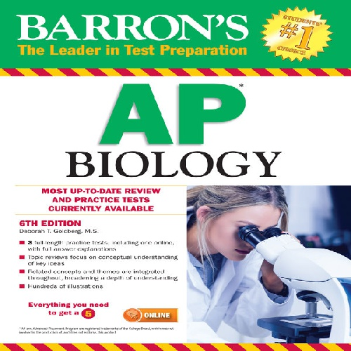 کتاب Barrons AP Biology - ویرایش ششم (2017)