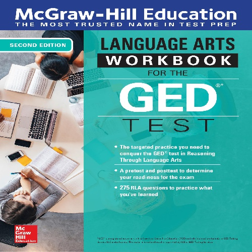 کتاب Reasoning Through Language Arts (RLA) Workbook for the GED Test - ویرایش دوم (2019)
