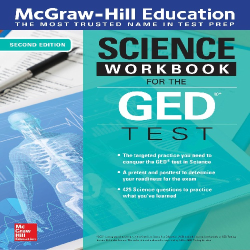 کتاب Science Workbook for the GED Test - ویرایش دوم (2019)
