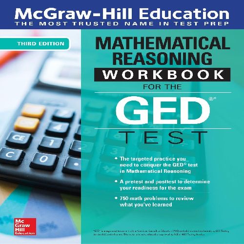 کتاب Mathematical Reasoning Workbook for the GED Test - ویرایش سوم (2019)