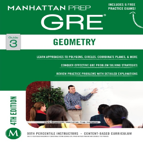 کتاب (GRE Geometry (Manhattan Prep GRE Strategy Guides - ویرایش چهارم