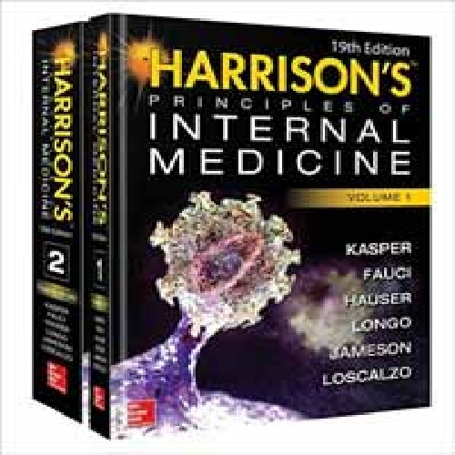 کتاب Harrison's Principles of Internal Medicine - ویرایش نوزدهم (2016)