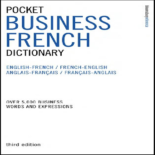 کتاب Pocket Business French Dictionary