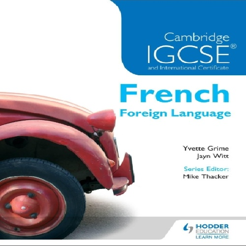کتاب Cambridge IGCSE & International Certificate French Foreign Language