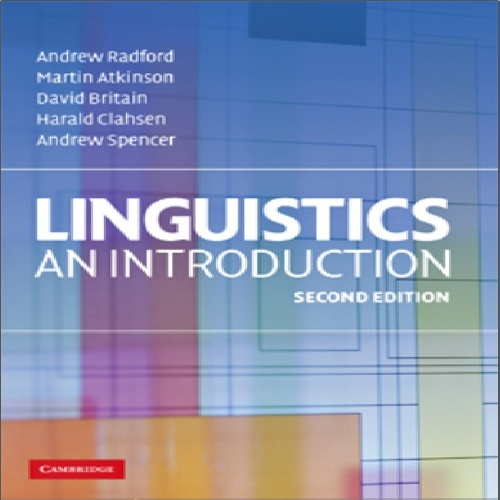 کتاب Linguistics An Introduction - ویرایش دوم (2009)