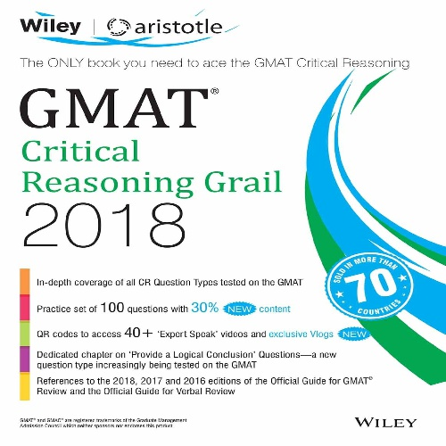 کتاب GMAT Critical Reasoning Grail 2018