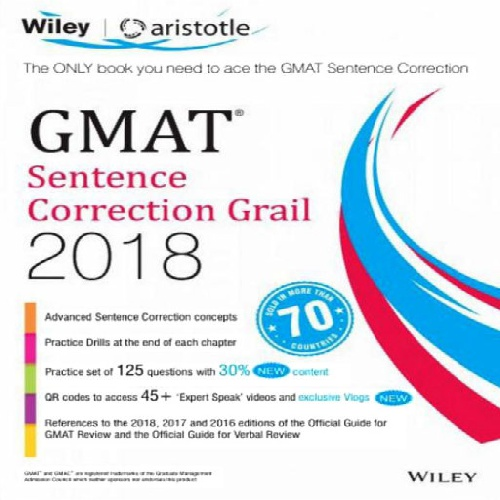 کتاب GMAT Sentence Correction Grail 2018